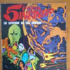 Cómics: 5 POR INFINITO - LA LEYENDA DE LAS SIRENAS - BURU LAN (IO). Lote 194511233