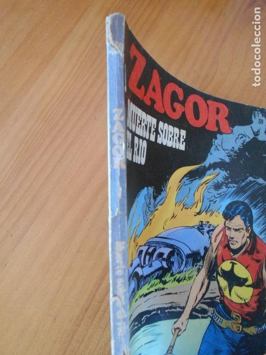 Cómics: ZAGOR Nº 39 - MUERTE SOBRE EL RIO - BURU LAN - LEER DESCRIPCION (K1) - Foto 2 - 194512273