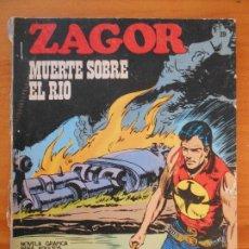 Cómics: ZAGOR Nº 39 - MUERTE SOBRE EL RIO - BURU LAN - LEER DESCRIPCION (K1). Lote 194512273
