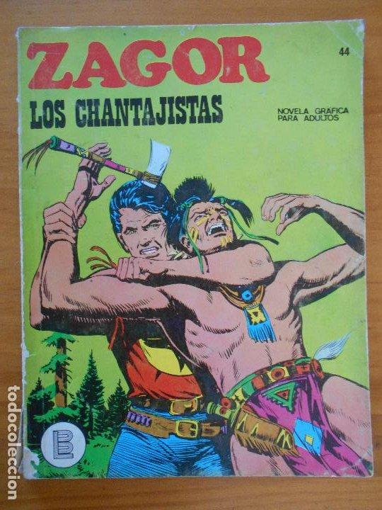 ZAGOR Nº 44 - LOS CHANTAJISTAS - BURU LAN (K1) (Tebeos y Comics - Buru-Lan - Zagor)
