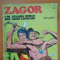 Cómics: ZAGOR Nº 44 - LOS CHANTAJISTAS - BURU LAN (K1). Lote 194512742