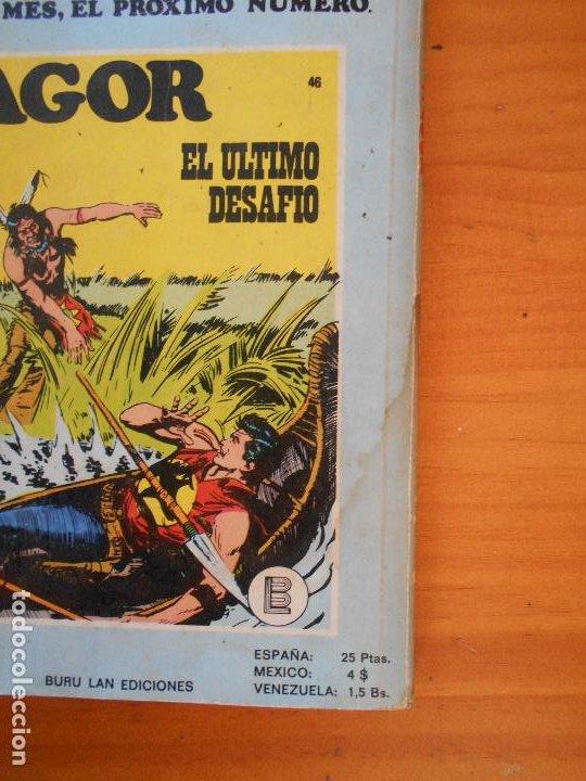 Cómics: ZAGOR Nº 45 - SOLO CONTRA TODOS - BURU LAN (K1) - Foto 3 - 194513181
