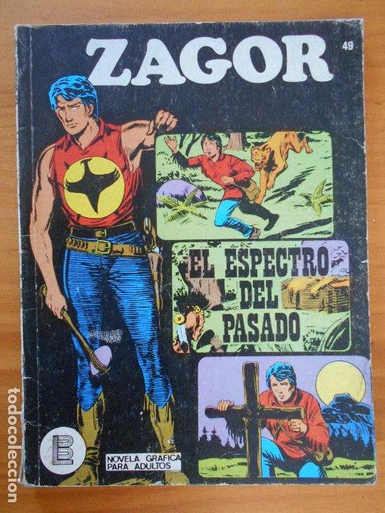ZAGOR Nº 49 - EL ESPECTRO DEL PASADO - BURU LAN (K1) (Tebeos y Comics - Buru-Lan - Zagor)