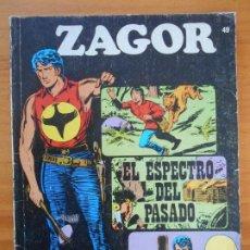 Cómics: ZAGOR Nº 49 - EL ESPECTRO DEL PASADO - BURU LAN (K1). Lote 194513433