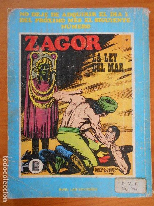 Cómics: ZAGOR Nº 50 - ¡VICTORIA! - BURU LAN (K1) - Foto 3 - 194513673