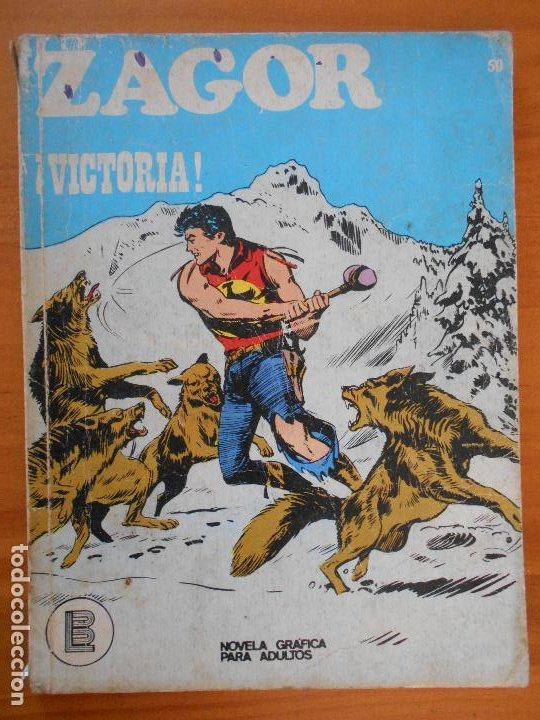 ZAGOR Nº 50 - ¡VICTORIA! - BURU LAN (K1) (Tebeos y Comics - Buru-Lan - Zagor)