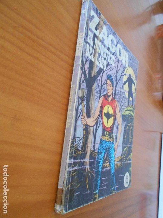 Cómics: ZAGOR Nº 52 - EL MONSTRUO DEL LAGO - BURU LAN - LEER DESCRIPCION (6R) - Foto 2 - 194580122