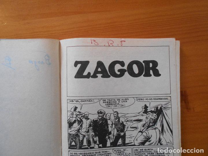 Cómics: ZAGOR Nº 52 - EL MONSTRUO DEL LAGO - BURU LAN - LEER DESCRIPCION (6R) - Foto 5 - 194580122