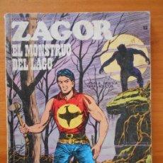 Cómics: ZAGOR Nº 52 - EL MONSTRUO DEL LAGO - BURU LAN - LEER DESCRIPCION (6R). Lote 194580122