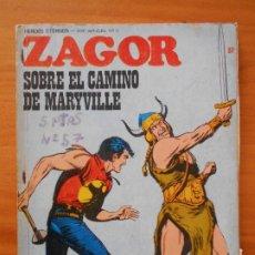 Cómics: ZAGOR Nº 57 - SOBRE EL CAMINO DE MARYVILLE - BURU LAN - LEER DESCRIPCION (6R). Lote 194580753