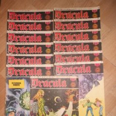 Cómics: DRACULA - LOTE DE 13 NUMEROS ( DEL 1 AL 13 ) - BURU LAN. Lote 194591127