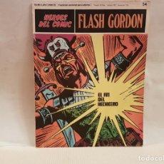Cómics: ANTIGUO TEBEO FLASH GORDON BURU LAN COMICS TOMO 5 FASCICULO 54 AÑO 1972 EL FIN DEL HECHICERO. Lote 194637856
