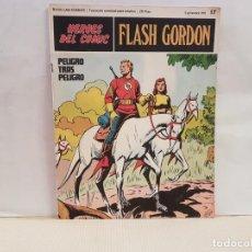 Cómics: ANTIGUO TEBEO FLASH GORDON BURU LAN COMICS VOLUMEN II FASCICULO 17 AÑO 1971 PELIGRO TRAS PELIGRO. Lote 194669925