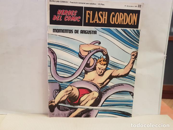 ANTIGUO TEBEO FLASH GORDON BURU LAN COMICS VOLUMEN III FASCICULO 32 AÑO 1971 MOMENTOS DE ANGUSTIA (Tebeos y Comics - Buru-Lan - Flash Gordon)