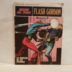 Cómics: ANTIGUO TEBEO FLASH GORDON BURU LAN COMICS TOMO 4 FASCICULO 41 AÑO 1972 LA REBELION DE LOS PENADOS. Lote 194885003