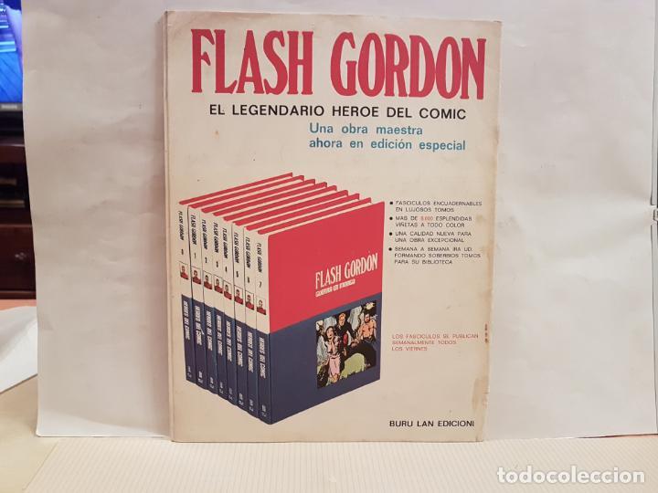 Cómics: antiguo tebeo flash gordon buru lan comics tomo 7 fasciculo 75 año 1973 la droga de la cobardia - Foto 2 - 194885492