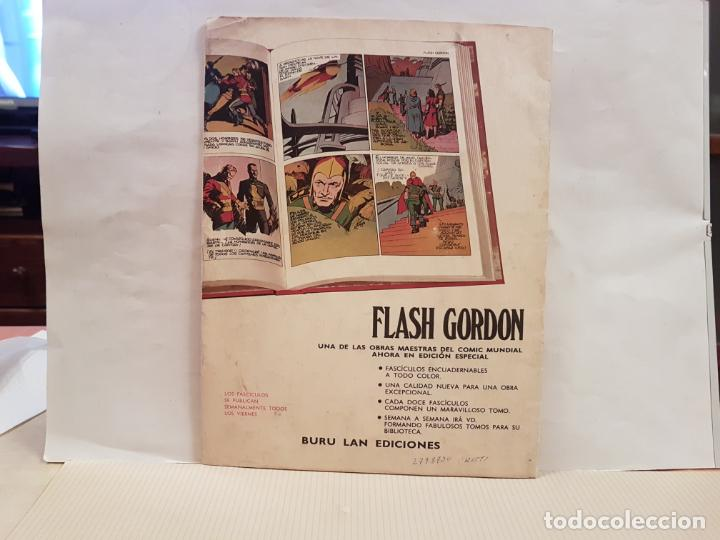 Cómics: antiguo tebeo flash gordon buru lan comics volumen 1 fasciculo 1 año 1971 en los bosques de arboria - Foto 2 - 194886040