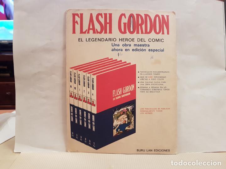 Cómics: antiguo tebeo flash gordon buru lan comics tomo 1 fasciculo 2 año 1972 los rebeldes de mongo - Foto 2 - 194887371