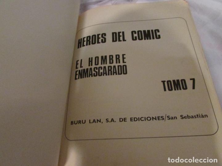 Cómics: EL HOMBRE ENMASCARADO (BURULAN) COMPLETA - Foto 4 - 194897232
