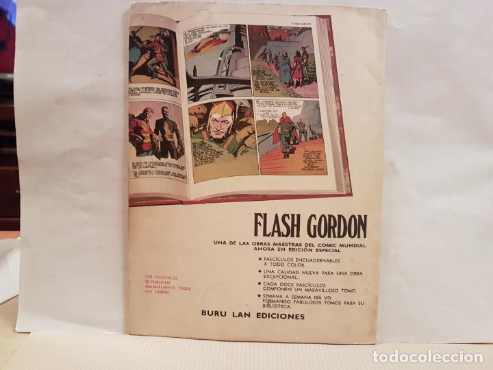 Cómics: antiguo tebeo flash gordon buru lan comics volumen 1 fasciculo 4 año 1971 las intrigas de la corte - Foto 2 - 194920173