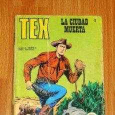 Cómics: TEX. Nº 5 : LA CIUDAD MUERTA. - BURU LAN, [1970]. Lote 194920611