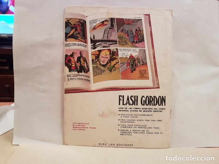 Cómics: antiguo tebeo flash gordon buru lan comics volumen 1 fasciculo 6 año 1971 prisionera de ming - Foto 2 - 194920695