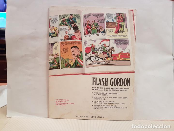 Cómics: antiguo tebeo flash gordon buru lan comics volumen 1 fasciculo 7 año 1971 el anillo de fuego - Foto 2 - 194920921