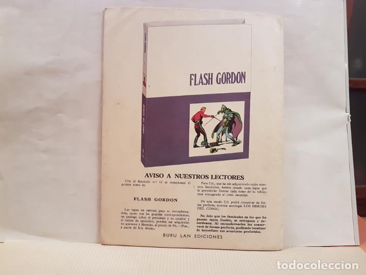 Cómics: antiguo tebeo flash gordon buru lan comics volumen 1 fasciculo 10 año 1971 la patrulla de la muerte - Foto 2 - 194921231