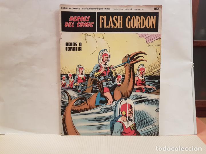 ANTIGUO TEBEO FLASH GORDON BURU LAN COMICS TOMO 02 FASCICULO 012 AÑO 1972 ADIOS A CORALIA (Tebeos y Comics - Buru-Lan - Flash Gordon)