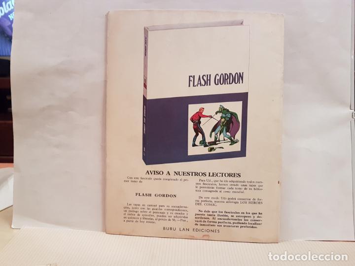 Cómics: antiguo tebeo flash gordon buru lan comics volumen 1 fasciculo 12 año 1971 hacia nuevos horizontes - Foto 2 - 194922085