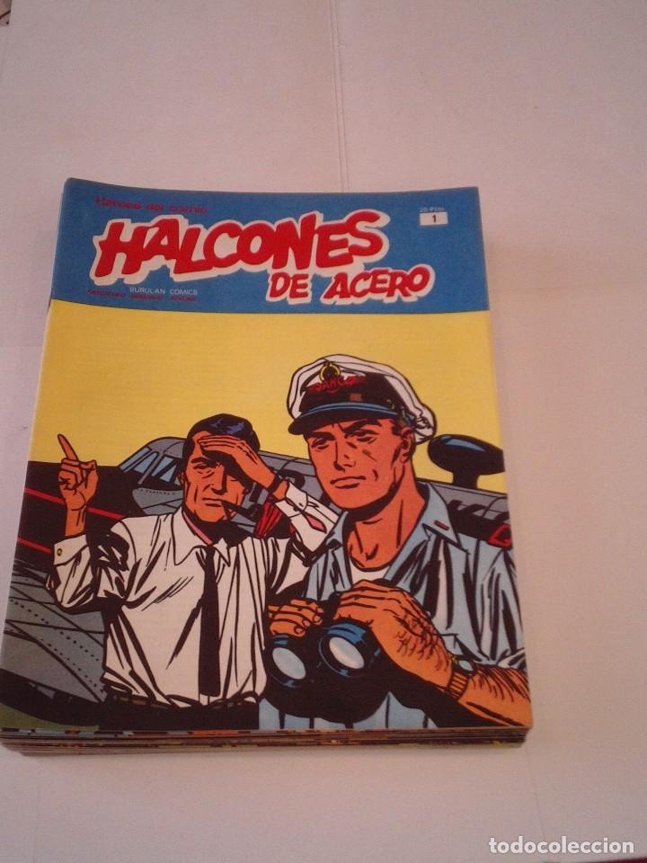 HALCONES DE ACERO - BURU LAN - COMPLETA - 24 FASCICULOS - IMPECABLE - GORBAUD - CJ 116 (Tebeos y Comics - Buru-Lan - Halcones de Acero)
