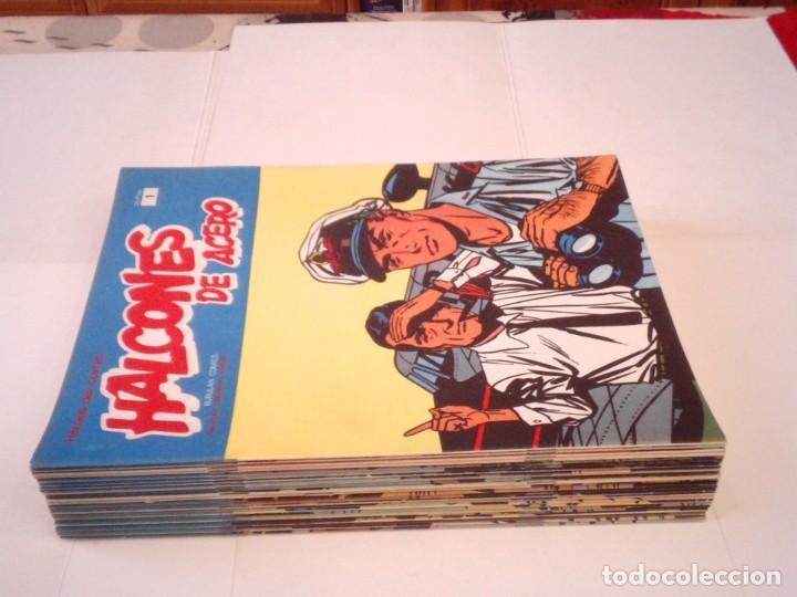 Cómics: HALCONES DE ACERO - BURU LAN - COMPLETA - 24 FASCICULOS - IMPECABLE - GORBAUD - CJ 116 - Foto 2 - 194925837