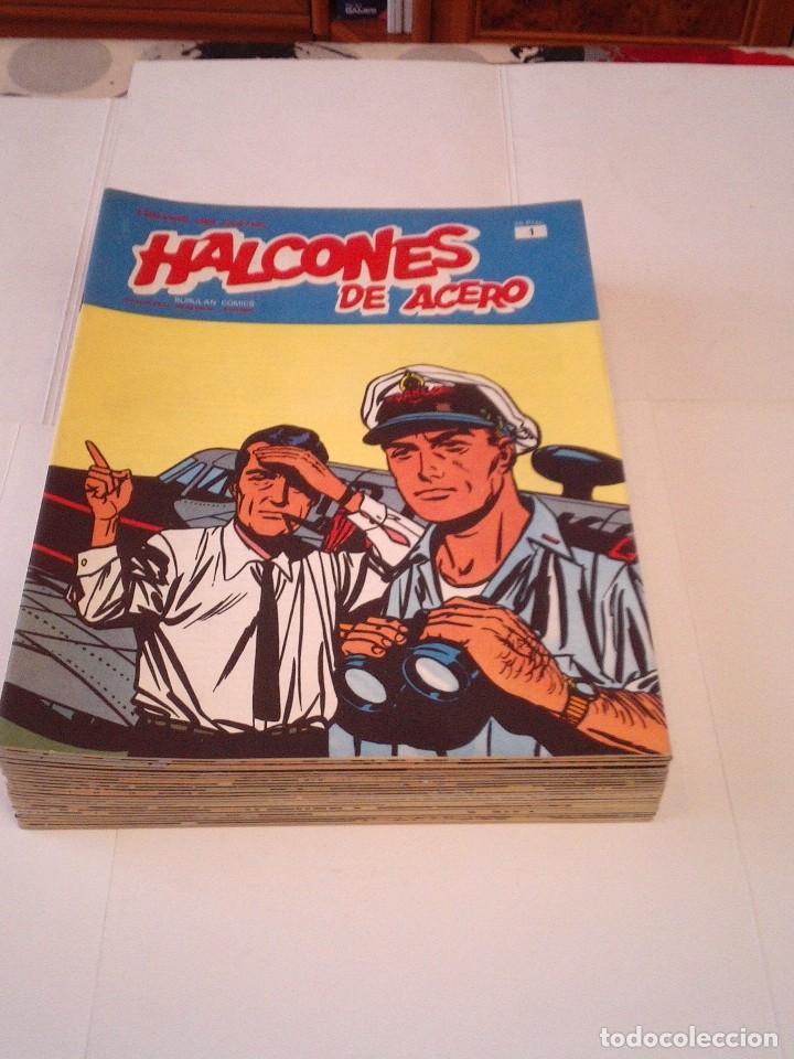 Cómics: HALCONES DE ACERO - BURU LAN - COMPLETA - 24 FASCICULOS - IMPECABLE - GORBAUD - CJ 116 - Foto 3 - 194925837