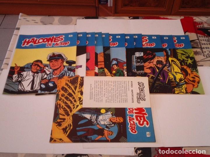Cómics: HALCONES DE ACERO - BURU LAN - COMPLETA - 24 FASCICULOS - IMPECABLE - GORBAUD - CJ 116 - Foto 6 - 194925837