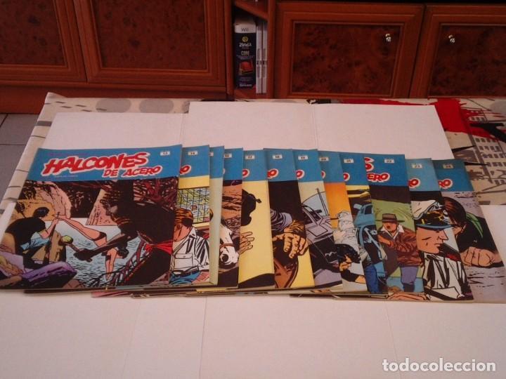 Cómics: HALCONES DE ACERO - BURU LAN - COMPLETA - 24 FASCICULOS - IMPECABLE - GORBAUD - CJ 116 - Foto 7 - 194925837