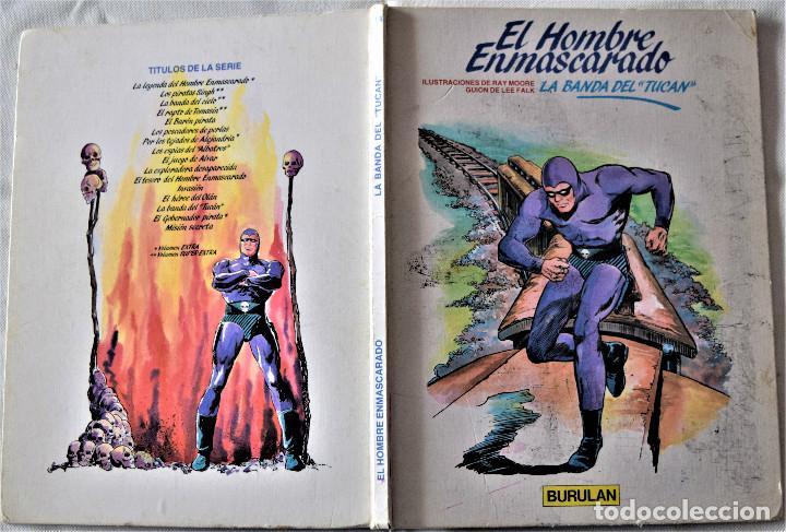 Cómics: ELHOMBRE ENMASCARADO Nº 14 - LA BANDA DEL TUCAN - BURULAN - POR RAY MOORE Y LEE FALK - TAPA DURA - Foto 2 - 194948952