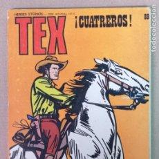 Cómics: TEX EDT. BURULAN N°89. Lote 195139493