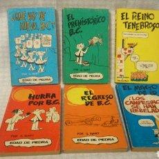 Cómics: 6 CÓMICS EDAD DE PIEDRA. EDICIONES BURU LAN. Lote 195337748