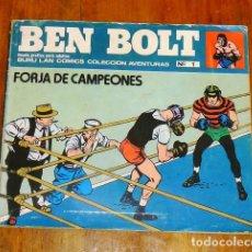Cómics: BEN BOLT. Nº 1 : FORJA DE CAMPEONES (COLECCIÓN AVENTURAS). Lote 195384961