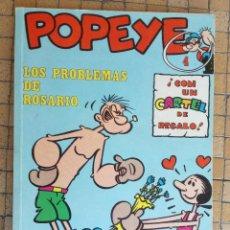 Cómics: POPEYE Nº 4, LOS PROBLEMAS DE ROSARIO, EDICIONES BURU LAN, AÑO 1971. Lote 195594895