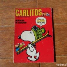 Cómics: CARLITOS Y SNOOPY Y LOS CEBOLLITAS Nº 8, EDITORIAL BURULAN. Lote 195661228