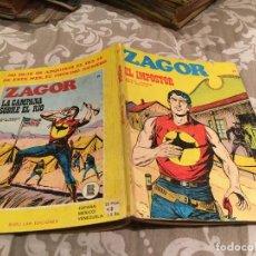 Cómics: ZAGOR Nº 21 EL IMPOSTOR -EDITORIAL BURULAN. Lote 195992232