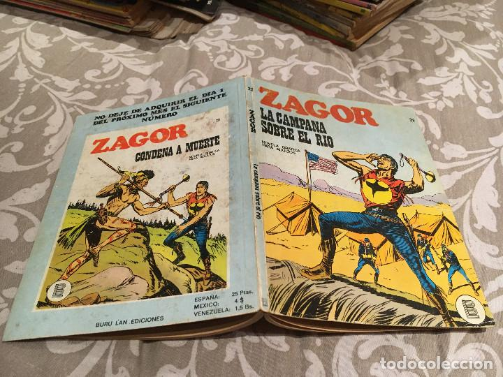 ZAGOR Nº 22 - LA CAMPANA SOBRE EL RÍO - BURU LAN 1972 (Tebeos y Comics - Buru-Lan - Zagor)