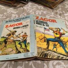 Cómics: ZAGOR Nº 22 - LA CAMPANA SOBRE EL RÍO - BURU LAN 1972. Lote 195992807