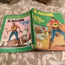 Cómics: ZAGOR Nº15 - LA ISLA DEL MIEDO - BURU LAN 1972. Lote 195993287