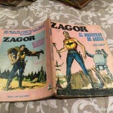 Cómics: ZAGOR Nº16 EL MONSTRUO DE ACERO - BURU LAN 1972. Lote 195994250
