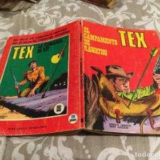 Cómics: TEX Nº 8 EL CAMPAMENTO DE RAWATHO - EDICIONES BURU-LAN 1971. Lote 196030136