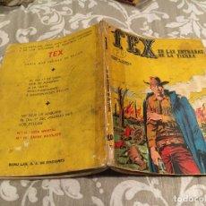 Cómics: TEX Nº 10 EN LAS ENTRAÑAS DE LA TIERRA - EDICIONES BURU-LAN 1971. Lote 196030766