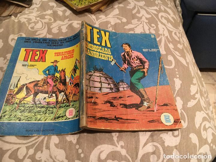 TEX Nº22 EMBOSCADA SANGRIENTA - EDICIONES BURU-LAN (Tebeos y Comics - Buru-Lan - Tex)