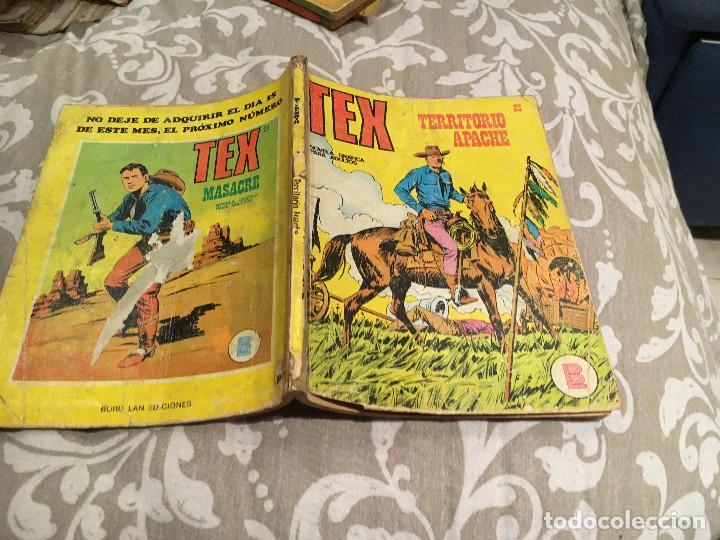 TEX Nº23 TERRITORIO APACHE - EDICIONES BURU-LAN (Tebeos y Comics - Buru-Lan - Tex)